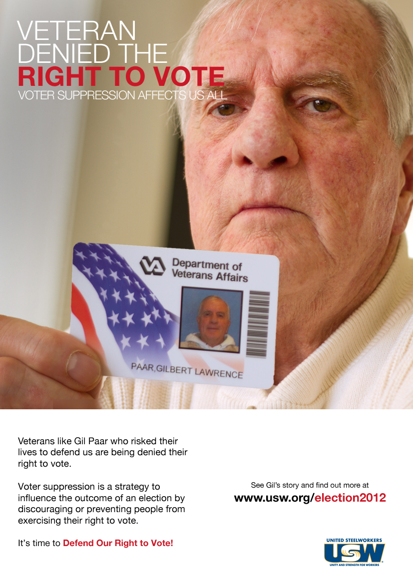 veteran voter suppression