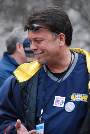 USW Local 10-1's Jim Savage