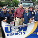 District 2 Displays Solidarity on Labor Day 2010