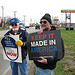 USW Local 9550 members in Goshen, IN. are fighting to stop their jobs from moving to Mexico.