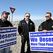 USW Local 2003 Workers Rally Outside Jupiter Aluminum Corp. Main Gate