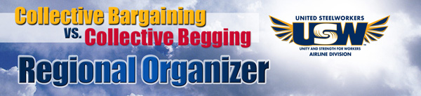 Regional Organizer Collective Bargaining vs. Collective Begging
