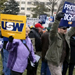 Right-to-Work Protest in Lansing, Michigan